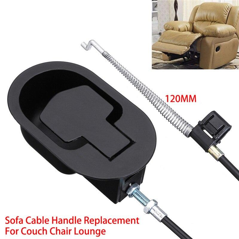 Nieuwe Mode 120mm 1 Stuks Metalen Fauteuil Handvat Release Lever Trigger Kabel Sofa Lounge Chair Vervanging