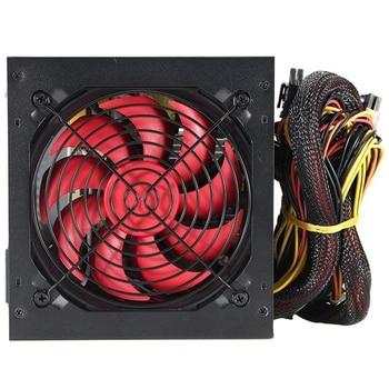 Eu Plug 800W For Intel for Amd Pc 12V Atx Pc Power Supply Sli Pci-E 12Cm Fan Computer Power Supply For Btc