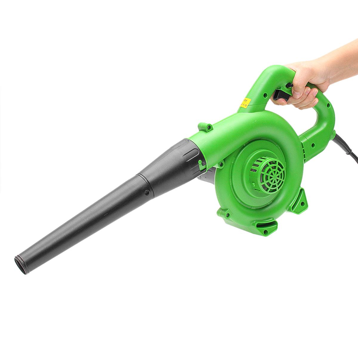 1200W Portable Computer Cleaner Electric Air Blower Handheld Garden Leaf Collector Car Computer Dust Air Blowing Cleaner Tool