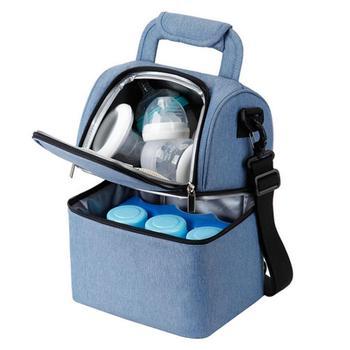 Anne sütü saklama çantası Çok Fonksiyonlu şişe soğutucu çanta Mumya Çanta Taze tutmak Için Soğutucu Çanta Bebek Bakımı Anne ve Çocuk