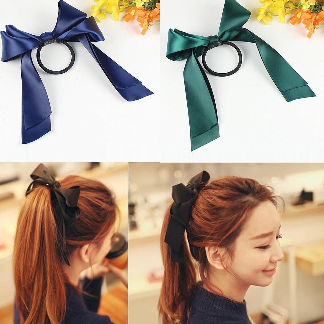 Daughter Mum Baby  Bowknot Hair Band Matching Elastic Headband Floral Turban Knot Accessories Headwear