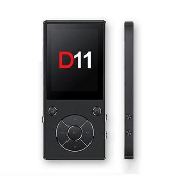 D11 Metal Large Screen MP3MP4 Bluetooth Card Player With Headphones Multifunction Hifi Music Player