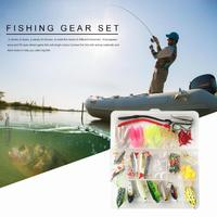 110 pcs Sequins Fishing Lures Set Spoon Hooks Fish Bait Swivel Ring Kit Box Fishing Tackle Accessories With Alloy Plastics