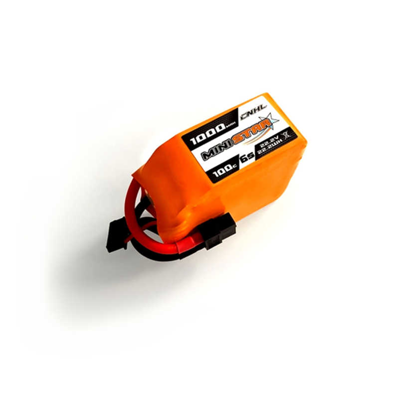 CNHL MiniStar 22,2 V 1000 mAh 6 S 100C перезаряжаемый lipo-аккумулятор W/XT60 разъем для дрона с дистанционным управлением с видом от первого лица с несколькими винтами