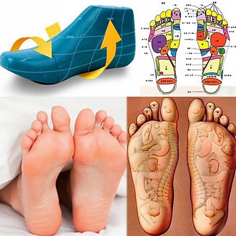 Magnetic Massage Foot Insoles Women Men Unisex Acupressure Slimming Insoles Foot Relaxation Care Shoes Cushion Memory Foam
