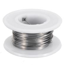 10M 0.5mm elektrikli tel nikrom Wrap ısıtma teli köpük kesici ısıtma kesme makinesi Cr20Ni80 ısıtma direnç telleri