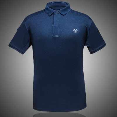 夏の屋外ハイキング Tシャツ軍事戦術半袖 Tシャツ男通気性クイックドライクールマックスポロシャツ