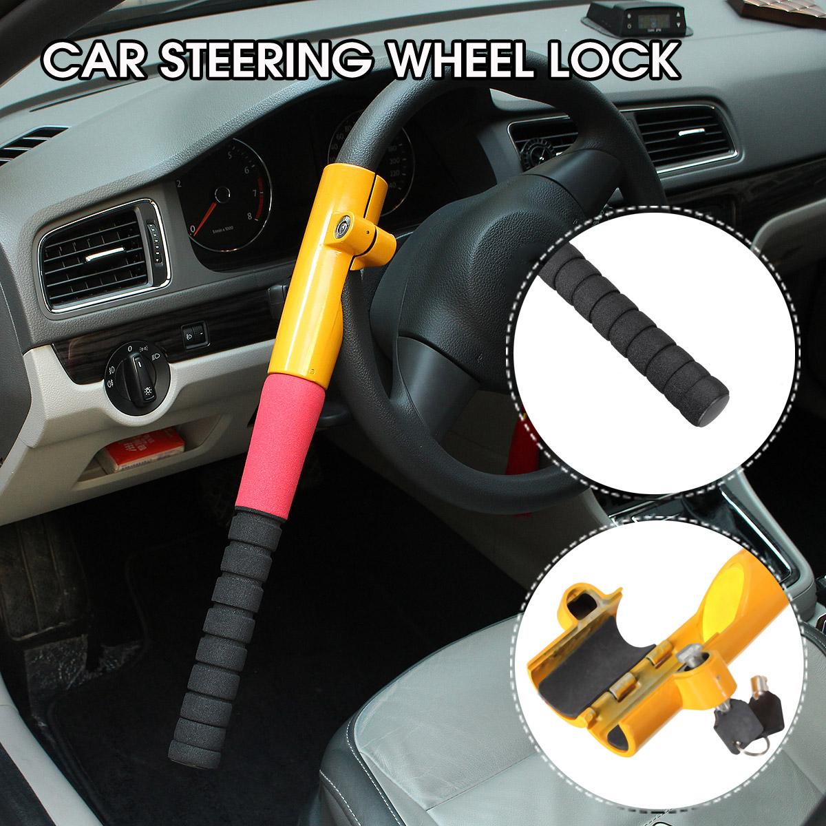 2013-DATE STOPLOCK HIGH SECURITY CAR STEERING WHEEL LOCK FOR MERCEDES A CLASS