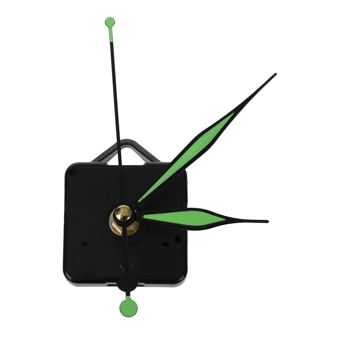 2 Pcs Luminoso Mani Fai Da Te Orologio Al Quarzo Movimento Del Mandrino Meccanismo Di Riparazione Tool Kit