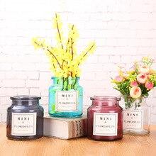 Мини цветочные вазы для дома украшения дома аксессуары для дома современные вазы для цветов Свадебные украшения цветочный горшок