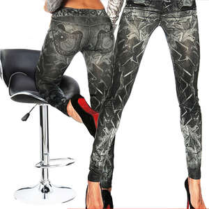 Thefound Sexy Womens Leggings fitness Print Long Pants