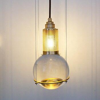 北欧モダン crystalball のシャンデリアシンプルな人格シングルヘッドホテル/ヴィラ/レストラン/廊下創造 LEDchandelier