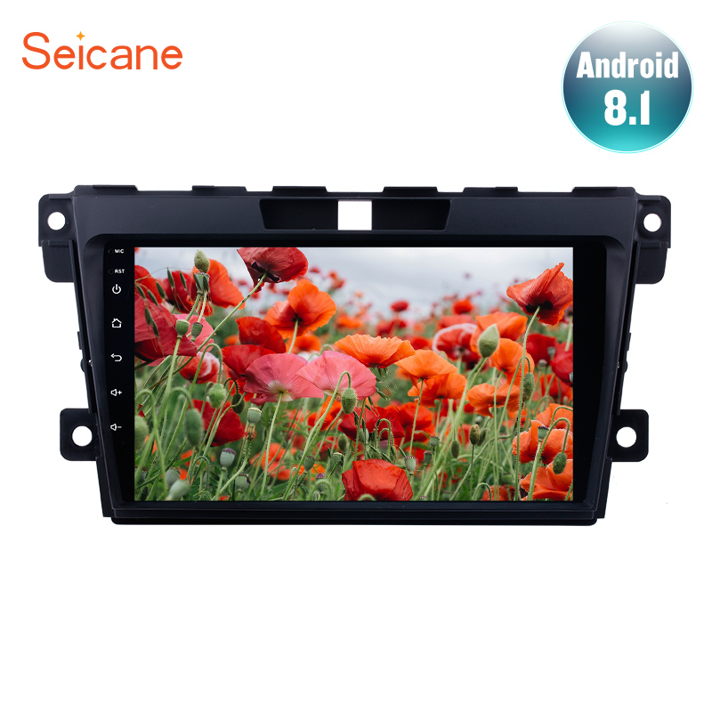 "Seicane 9"" Android 7.1/8.1 2DIN Car GPS Navigation Radio for 2007-2014 MAZDA CX-7 with WIFI USB Audio system Multimedia Player"