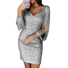 eb244e87bdf13 Buy short glitter dress and get free shipping on AliExpress.com
