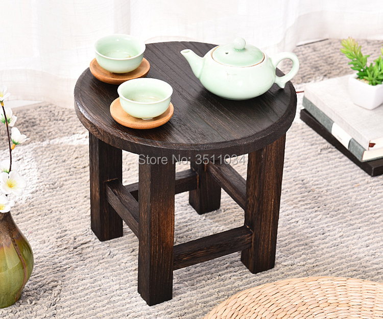 Fantastic 2019 Round Japanese Antique Wooden Stool Paulownia Wood Customarchery Wood Chair Design Ideas Customarcherynet