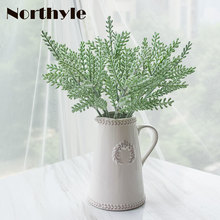 Dream House DH potted artificial antler leaves 1pcs ceramic vase+9 pcs antler leaves artificial greenery home flower decoration antler marcus page 8