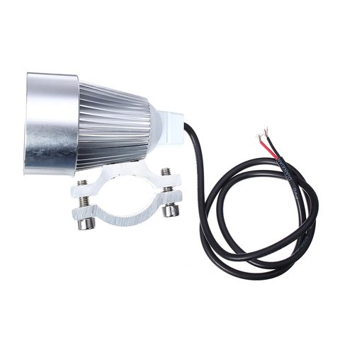 12V 15W Motorcycle Car LED Day Time Running Light LED Spot Lighting Universal for Bike Bicycle Truck Boat Lahore