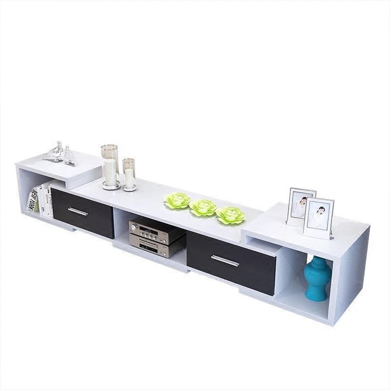 Modern Led Unit Entertainment Center Meuble Moderne Meja European Wood Monitor Mueble Table Living Room Furniture Tv Stand