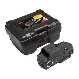 Image 5 - Caccia MH1 Tactical Red Dot Sight Doppio Sensore di Movimento Mirino Reflex Più Grande Campo Di Vista di Visione Notturna Scope Ak 47