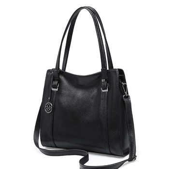 New Designer Luxury Handbags Women Tote Handbag Soft Genuine Leather Shoulder Bag Woman Cowhide Crossbody Bags Bolsos Mujer 2019 - DISCOUNT ITEM  39% OFF All Category