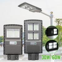 Waterproof 80/160led Solar Street Lights 30/60W Outdoor Garden Lamp Lights+Motion Sensors Emergency Wall Solar Lamp Safety