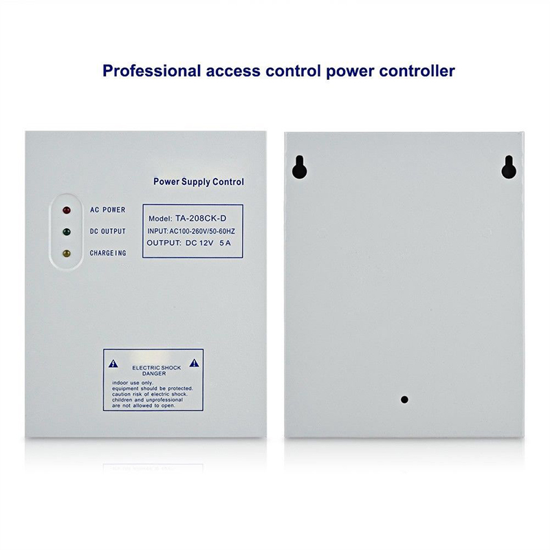 Replacement 12V 5A Switch Power Supply Control for Door Enter Access SystemReplacement 12V 5A Switch Power Supply Control for Door Enter Access System