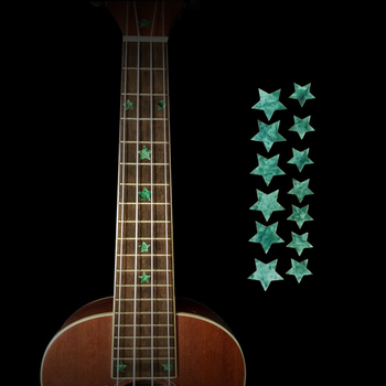 High quality Guitar Fretboard Markers Inlay Sticker Decals Star Shape for Electric Acoustic Classical Guitar Bass Ukulele high quality guitar fretboard markers inlay sticker decals star shape for electric acoustic classical guitar bass ukulele