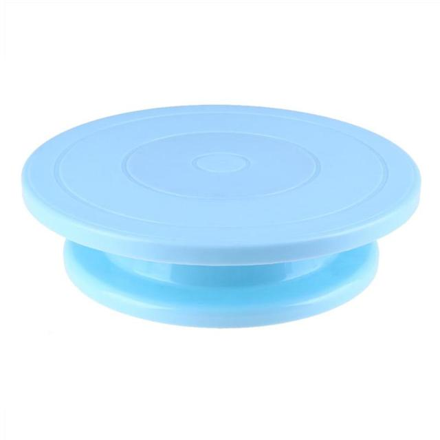 28cm Plastic Cake Turntable Rotating Anti-skid Cake 1