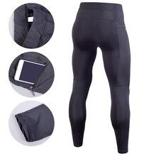 Men Compression Pant Running Tights Fitness Pants Gym Yoag Trousers Crossfit Jogger Sports Leggings Sportswear Jog Elastic