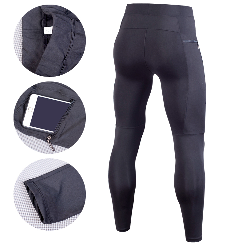 Men Compression Pant Running Tights Fitness Pants Gym Yoag Trousers Crossfit Jogger Sports Leggings Sportswear Jog Elastic Pants