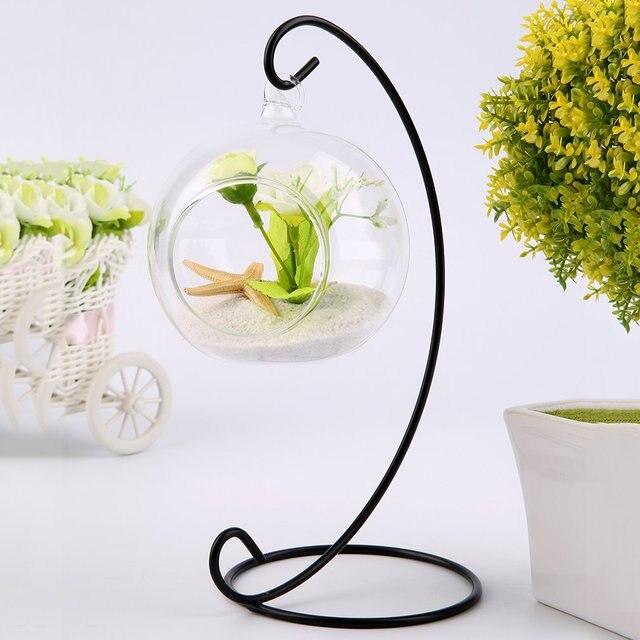 Creative בית גן ברור זכוכית פרח תליית אגרטל עסיסי צמח מרפסת זכוכית בקבוקים