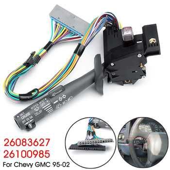 Interruptor de palanca de señal de giro del brazo del limpiaparabrisas del Control de crucero del coche para Chevy para GMC 1995-2002 26083627 26100985