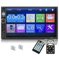 Upgrade 7010B 2 Din Car Radio 7 inch Player Mp5 Press Screen Bluetooth Multimedia Mirror Android Autoradio Car Backup Camera M