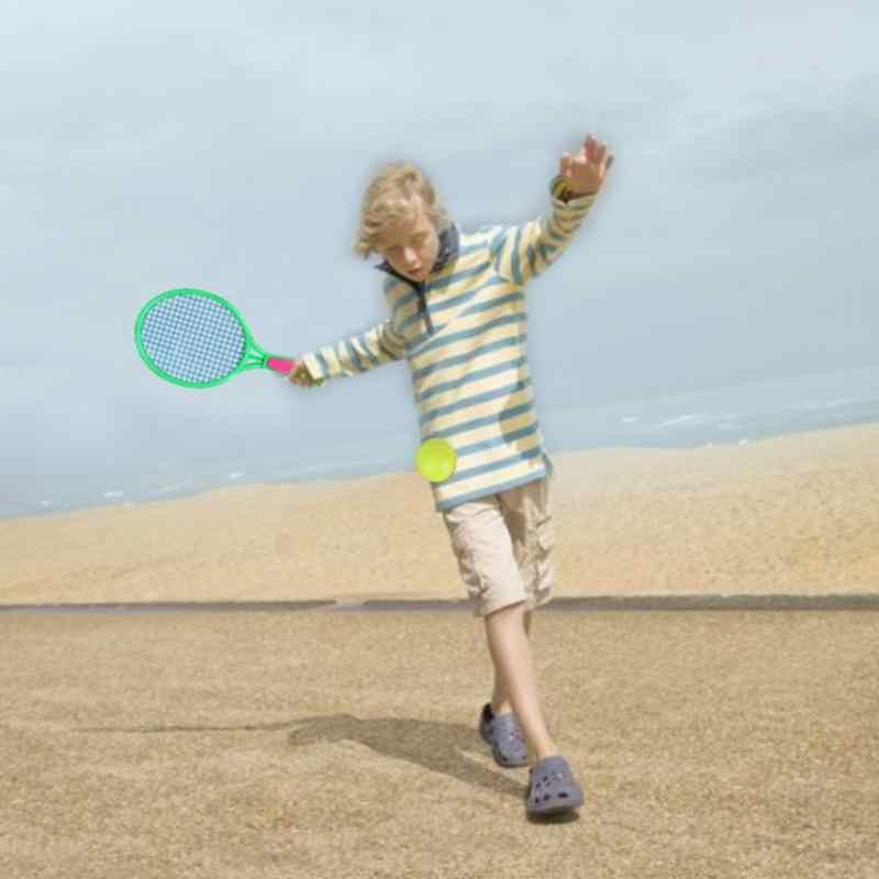 Beach Tennis Racket Children's Outdoor Sports Tennis Racket With Badminton Ball Racket Supplies Tennis Sports High Quality