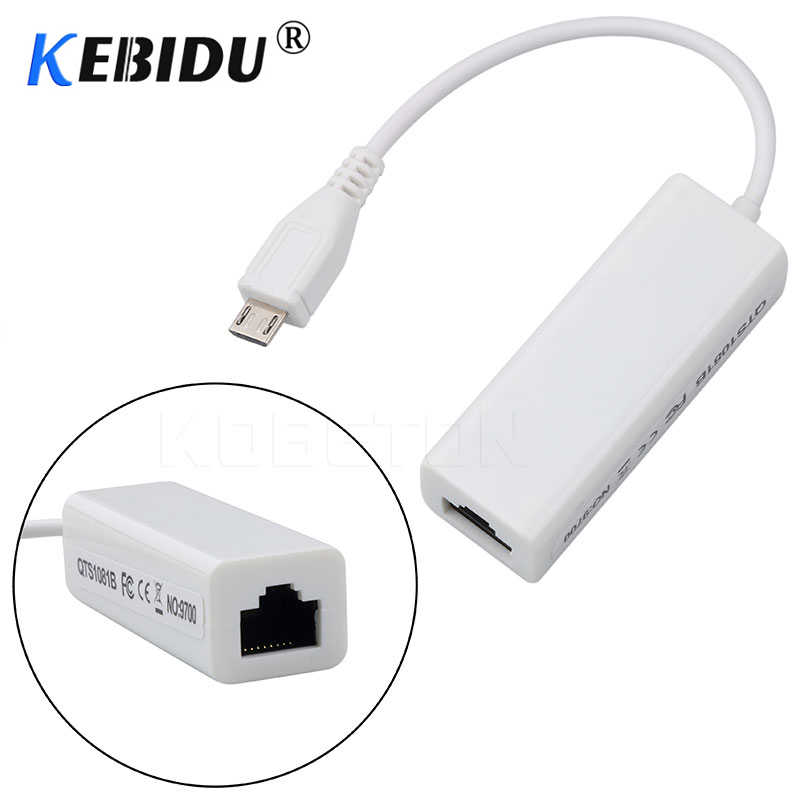 Kebidu Mini USB 2.0 Ethernet Adapter USB Zu RJ45 10/100Mbps Ethernet Lan Netzwerk Karte Adapter Für PC Windows 10 /8/7/XP