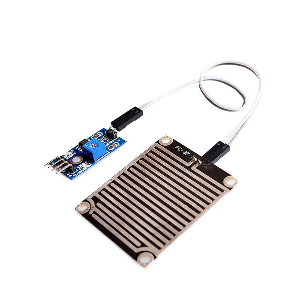 Demo Board 2019 New Snow/raindrops Detection Sensor Module Rain Weather Module Humidity For Arduino Bright Luster