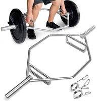 145 см серебро сталь Hex Болеро Deadlift бар штанга перекрестный тренажерный зал тяжелая атлетика скамейка тренажерный зал Professional Тренажёр для фи