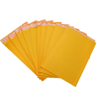50Pcs/Set Mailing Bags Yellow Kraft Paper Bubble Envelope Bag Moistureproof High Quality Self Seal Shipping Bags Drop Shipping