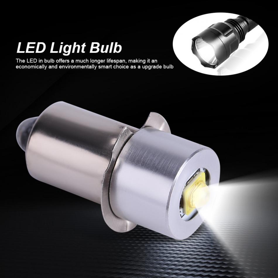 5W 6-24V P13.5S LED Flashlight Light Bulb High Bright LED Emergency Work Light Lamp Flashlight Replacement Bulb Torches Hot Sale
