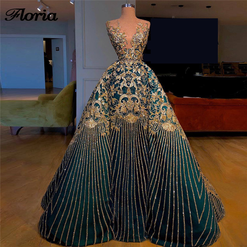 New Bling Saudi Arabia   Evening     Dresses   Turkish Aibye Sleeveless Prom   Dress   Formal Party Gowns Robe de soiree Longue Abendkleider
