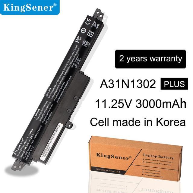"11,25 V 33Wh KingSener A31N1302 Батарея для ASUS VivoBook X200CA X200MA X200M X200LA F200CA X200CA R200CA 11,6 ""A31LMH2 A31LM9H"
