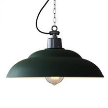 American Pot Cover Lampshade pendant lights Retro Iron Art Nostalgia hanging Lamps Industrial Restaurant Individual pendant lamp