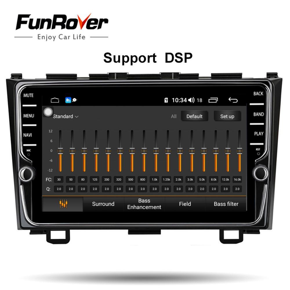 Lecteur multimédia dvd de voiture Funrover 8 cœurs Android 8.1 pour Honda CRV 2006-2011 autoradio stéréo gps navi DSP 4G 64G LTE - 2