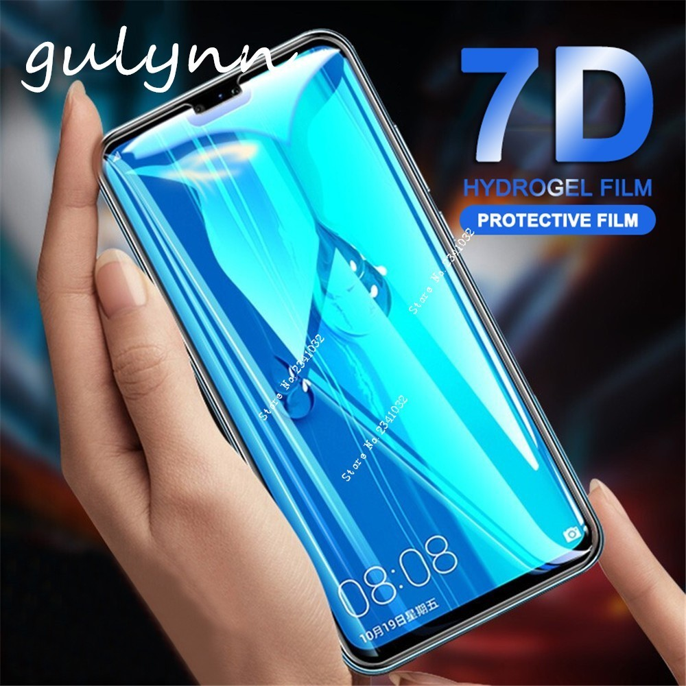 7D Full Cover Tempered Glass For Huawei P 20 30 Y 6 7 9 Smart 2019 Screen Protector Film Honor 8A 8C Pro Protective