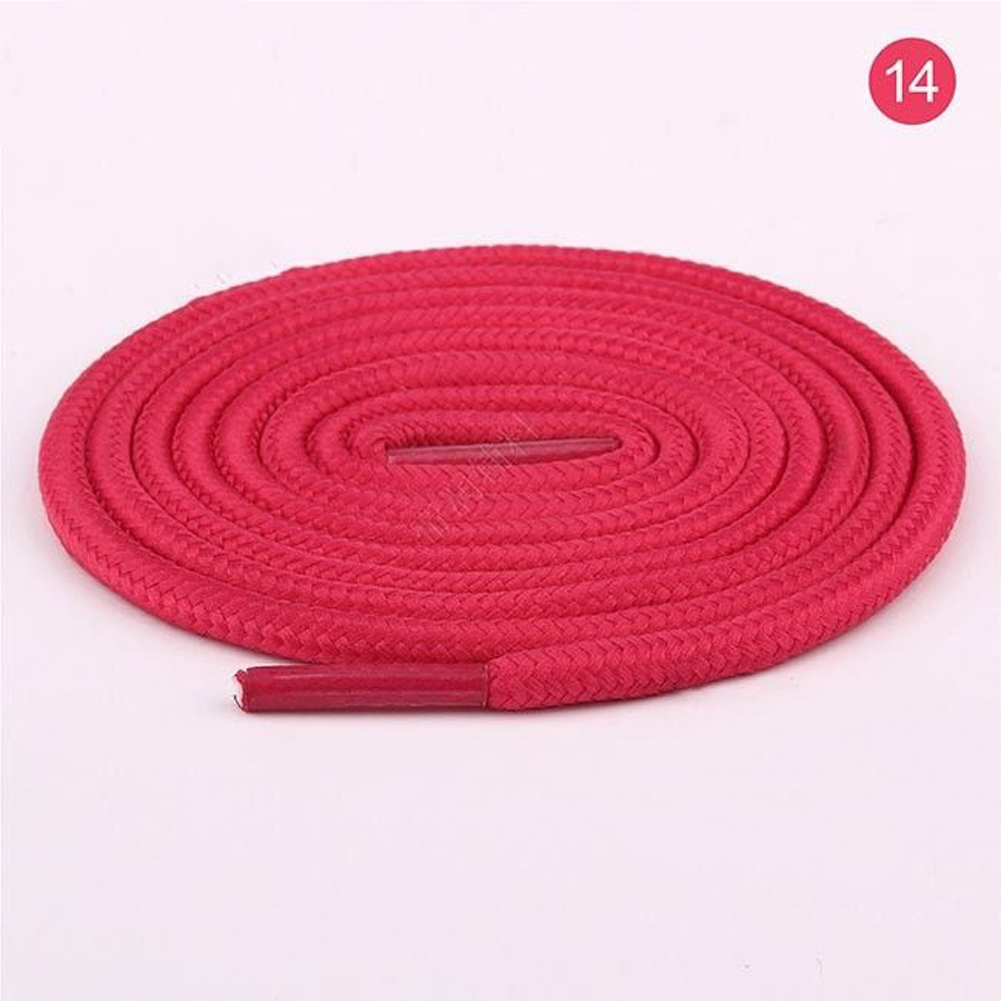 Waxed Shoe Laces Round Dress Shoe Coloured Shoelaces String Foot Rope 50-200cm