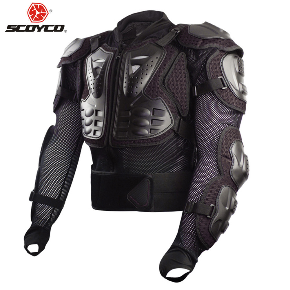 SCOYCO Body Armor Motorcycle Motocross Protection Vest Moto Cross Clothing Back Goods Equipment Chest Racing Motorbike ArmourSCOYCO Body Armor Motorcycle Motocross Protection Vest Moto Cross Clothing Back Goods Equipment Chest Racing Motorbike Armour