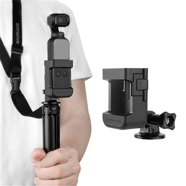 OSMO Pocket Updated Adapter Mount with Lanyard for GOPRO Adapter for 1/4 Adapter for DJI OSMO Pocket Handheld Gimbal Accessories