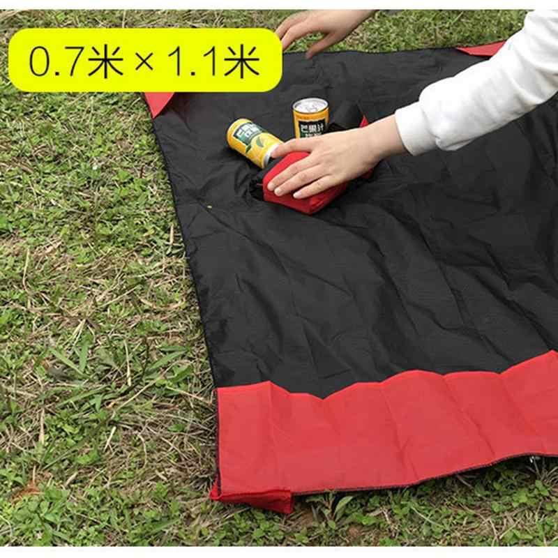 Портативный Ультратонкий коврик для кемпинга складной водонепроницаемый Карманный Открытый Чехол коврик для пикника песок пляж 70*110 см подушка кровать для кемпинга