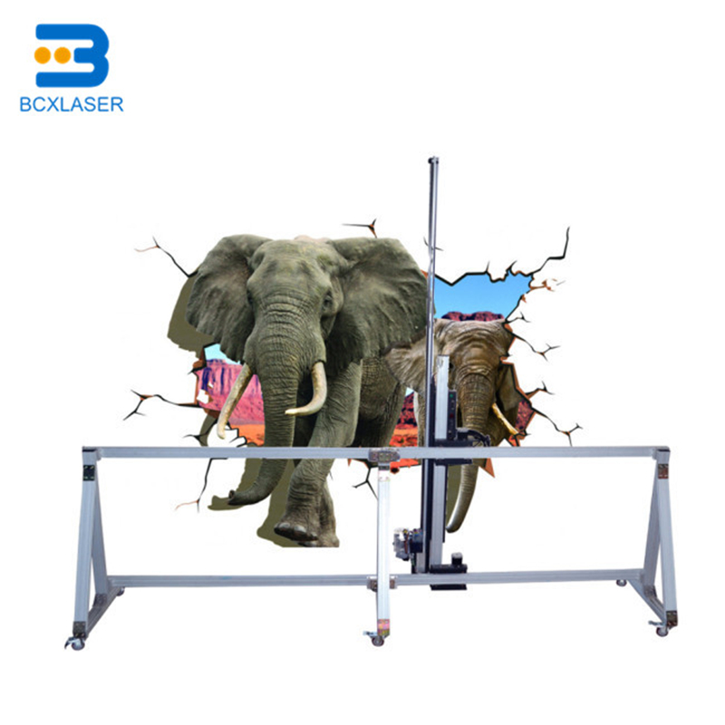 Factory Price Outdoor 3D Wall Printing Machine Direct To Wall Printer