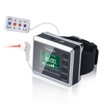 Wrist Diode LLLT 650nm Low Level Frequency Diabetes Hypertension Treatment